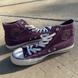 Purple High Top All Star Converse